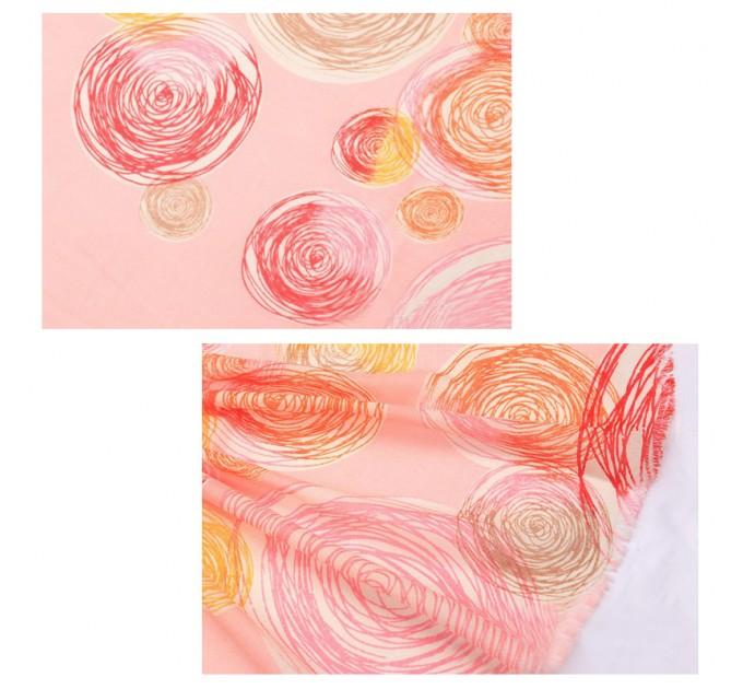 шарф Розовый вечер