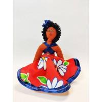 Кукла сувенирная мулатка