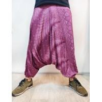 Мужские штаны афгани сиреневые