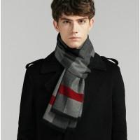 Вовняний шарф двосторонній