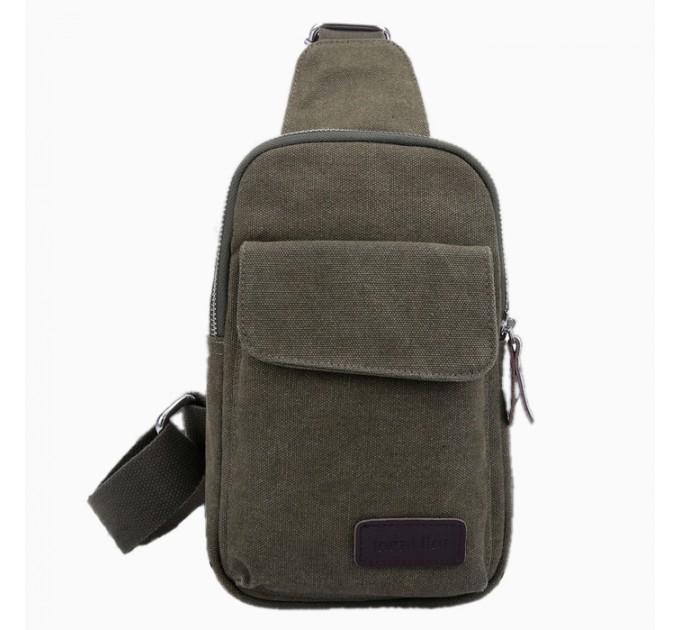 Брезентовий рюкзак ретро хакі
