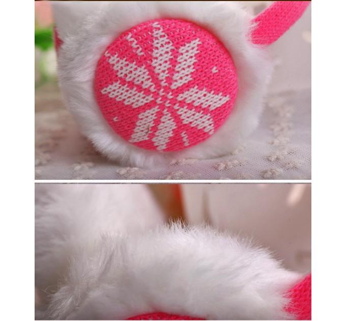 Навушники рожеві