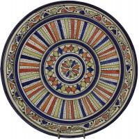 Тарелка Марокко декоративная