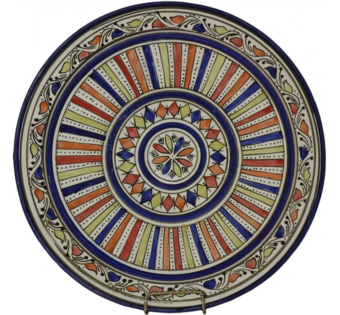 Тарілка Марокко декоративна