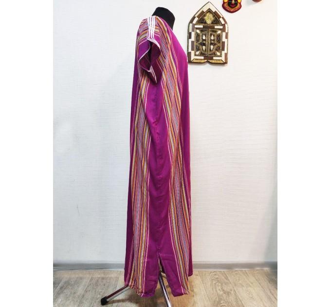 Платье длинное марокканское