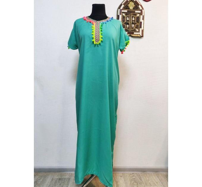 Сукня-туніка довга мусульманська