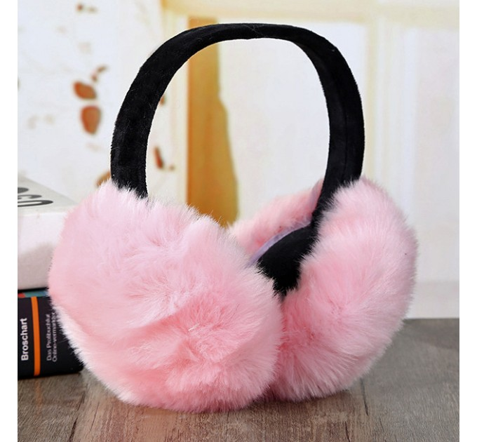 Хутряні вушка рожеві