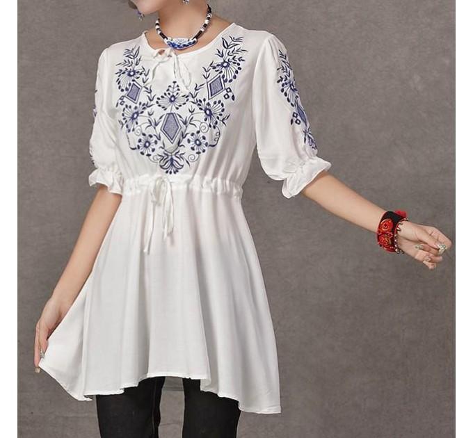 блузка Мексиканская