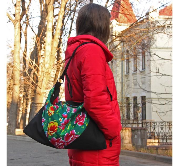 Жіноча сумка тканинна