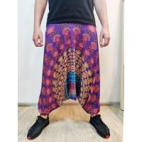 Мужские штаны зуавы violet