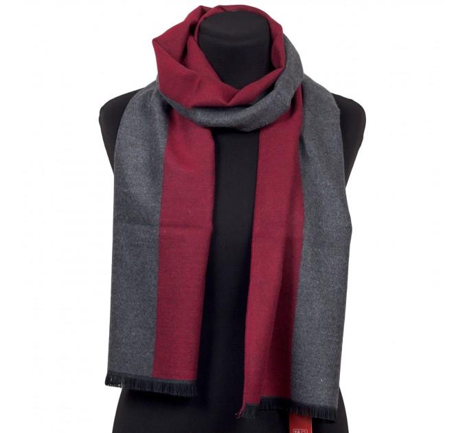 Чоловічий шарф класичний