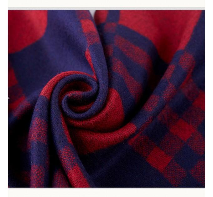 Мужской шарф кашемир