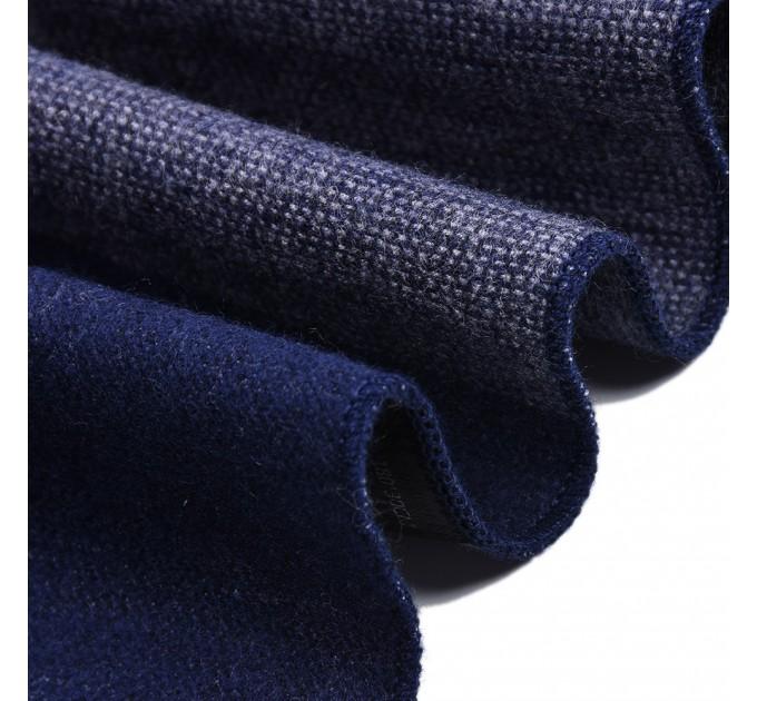 Чоловічий шарф у клітинку
