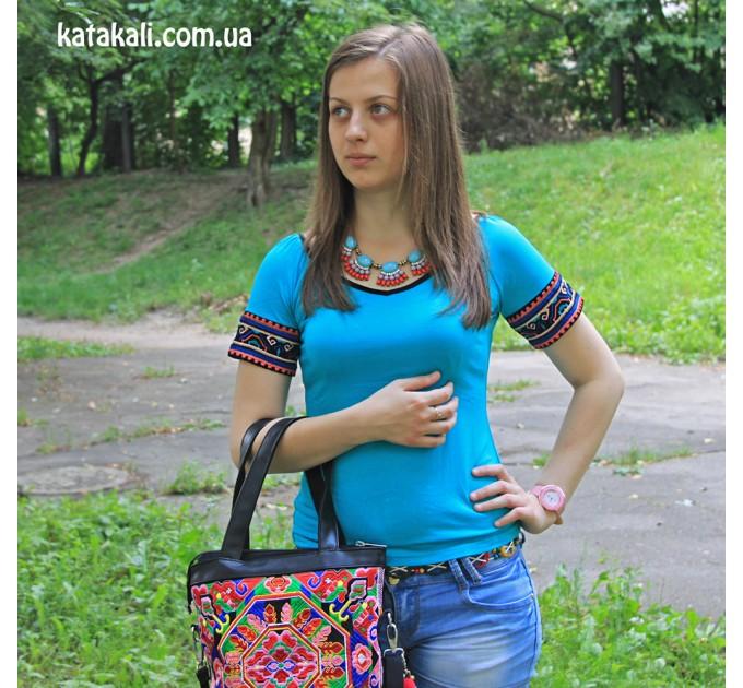 футболка Женская blue