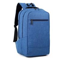 Тканинний рюкзак шкільний синій стильний