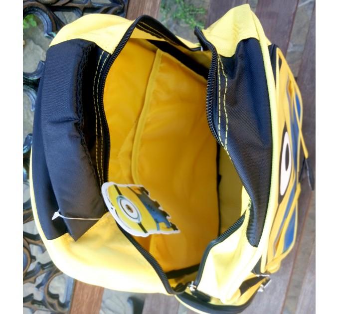 Рюкзак шкільний міньон