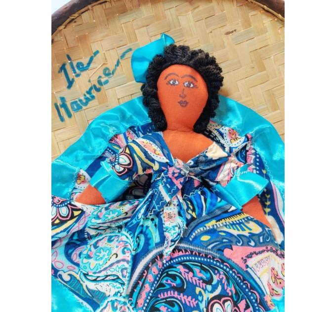 Тарелка плетеная Маврикий