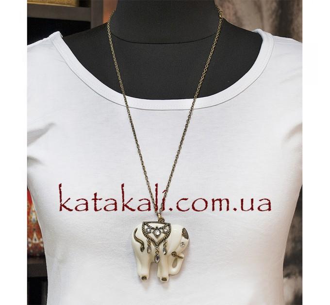 Підвіска прикраса на шию слон Джамбо