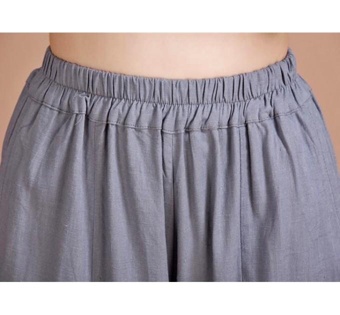 женские брюки Льняные