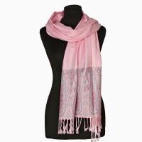 Палантин шарф рожевий