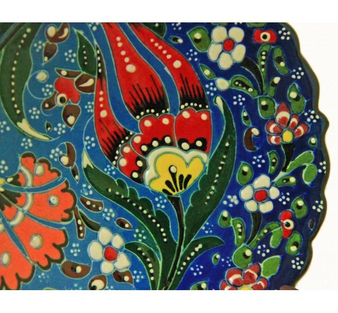 Расписная тарелка Турция