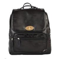 Рюкзак портфель чорний для міста