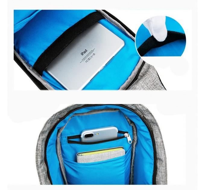 Рюкзак на одне плече антизлодій