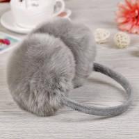Хутряні навушники кролик