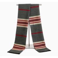 Вовняний шарф смугастий