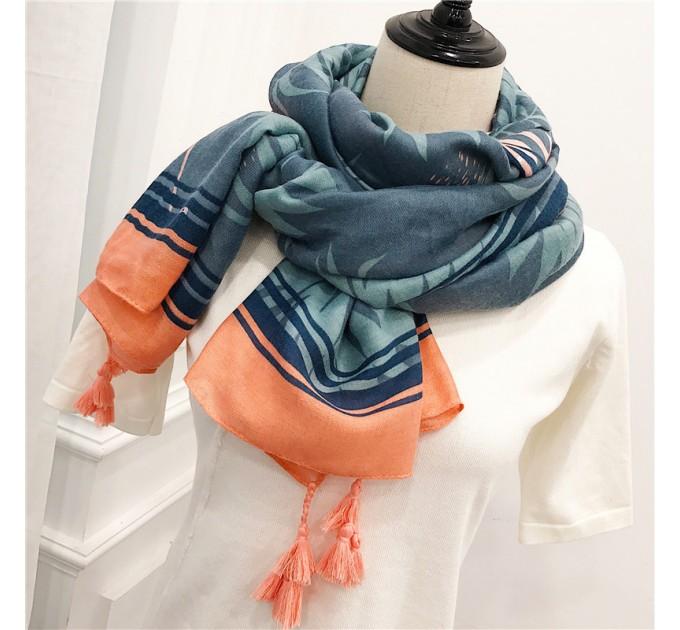 Жіночий шарфик Фламінго