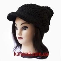 шапка черная Амазонка
