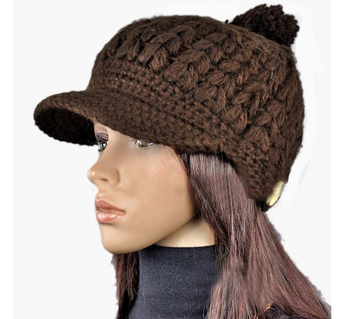шапка-кепка Шоколад