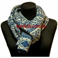 шарф Зимний blue
