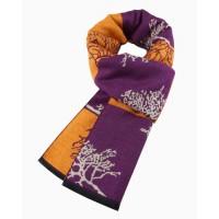 Двухсторонний мужской шарф