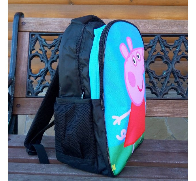 Шкільний рюкзак Свинка Пеппа каркасний