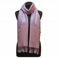 Палантин шарф бузковий