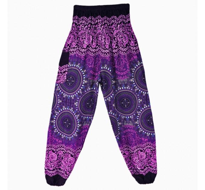 Жіночі брюки літні натуральні хіпі
