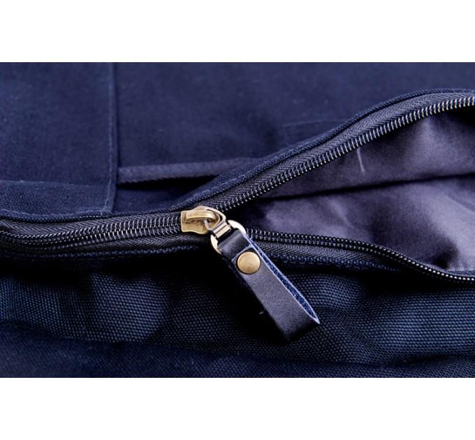 Сумка-торба синя зі слонами