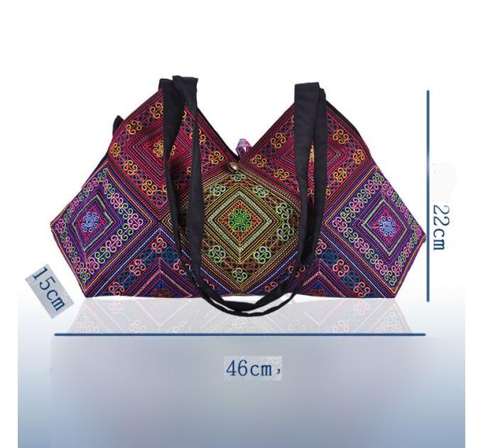 Сумка тканинна з арабским узором