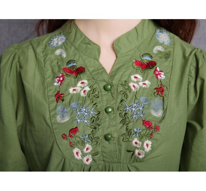 Вышитая блузка Mexiko