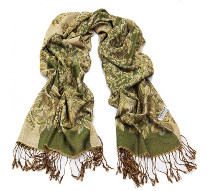 Палантин шарф лісний