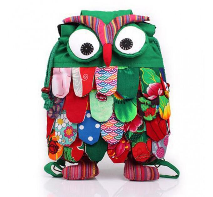 Рюкзак-игрушка Сова