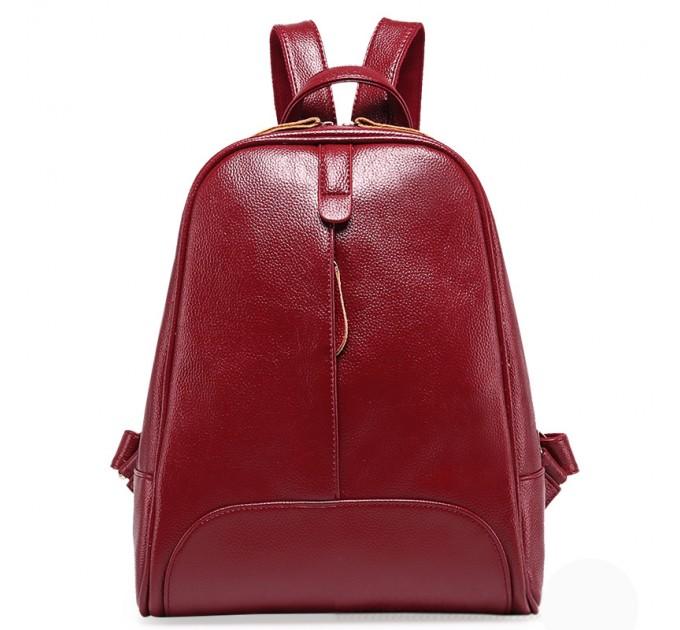 Рюкзак жіночий бордовий