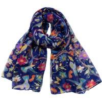 Жіночий шарф колібрі