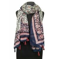 Жіночий шарф бохо шик