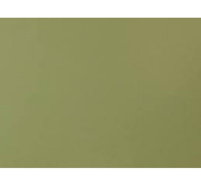 Палантин шарф кашеміровий зелений хакі