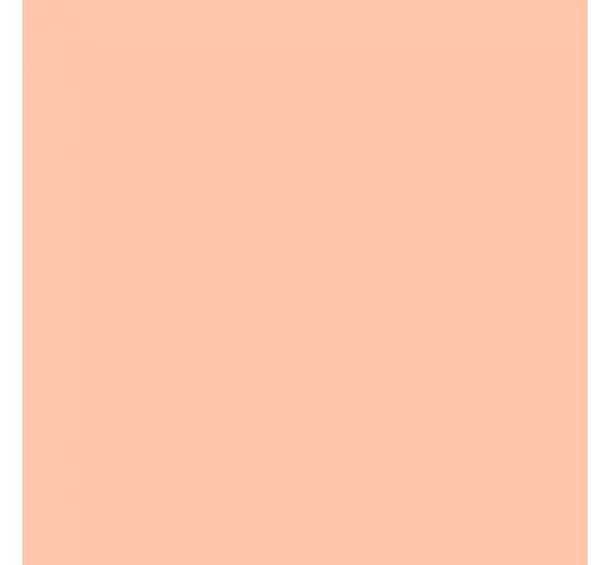 Шарф теплий персиковий