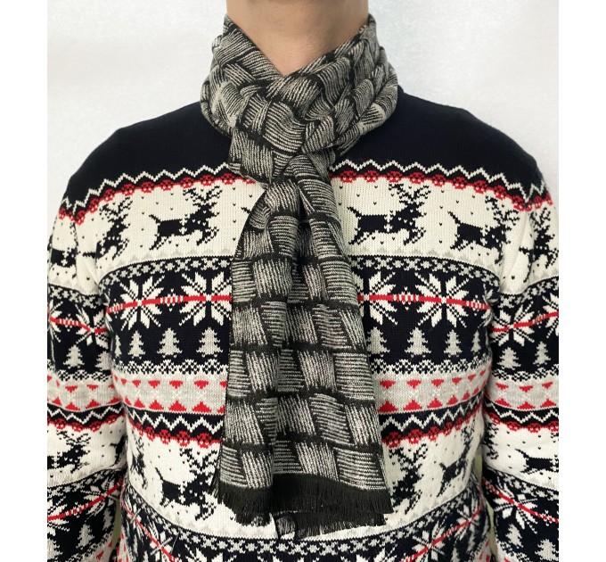 Вовняний шарф графіка