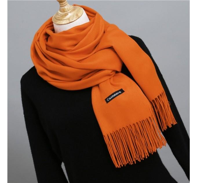 Палантин шарф помаранч