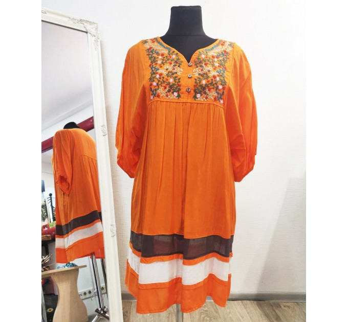 Туніка літня бавовнянна Orange